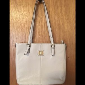 Anne Klein Shoulder Bag White